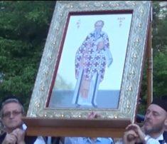 Γρεβενά: Περιφορά της Ιερής Εικόνας του Αγίου Αχιλλίου. Η πόλη των Γρεβενών τιμά τον Πολιούχο της Άγιο Αχίλλιο (Βίντεο)