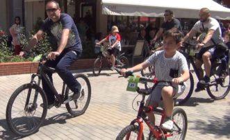 """""""Ο γύρος της πόλης των Γρεβενών"""" με ποδήλατα (Βίντεο)"""