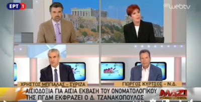 """Ο Χρήστος Μπγιάλας στην εκπομπή  """"Μαζί το Σαββατοκύριακο"""" στην ΕΡΤ1. Συζήτηση για την πολιτική επικαιρότητα (βίντεο)"""
