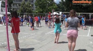 Τουρνουά Βόλεϊ στην κεντρική πλατεία των Γρεβενών (Βίντεο)