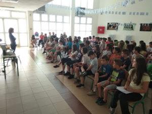 Παρουσίαση του ετήσιου προγράμματος με το Ειδικό Σχολείο και το Ειδικό Νηπιαγωγείο