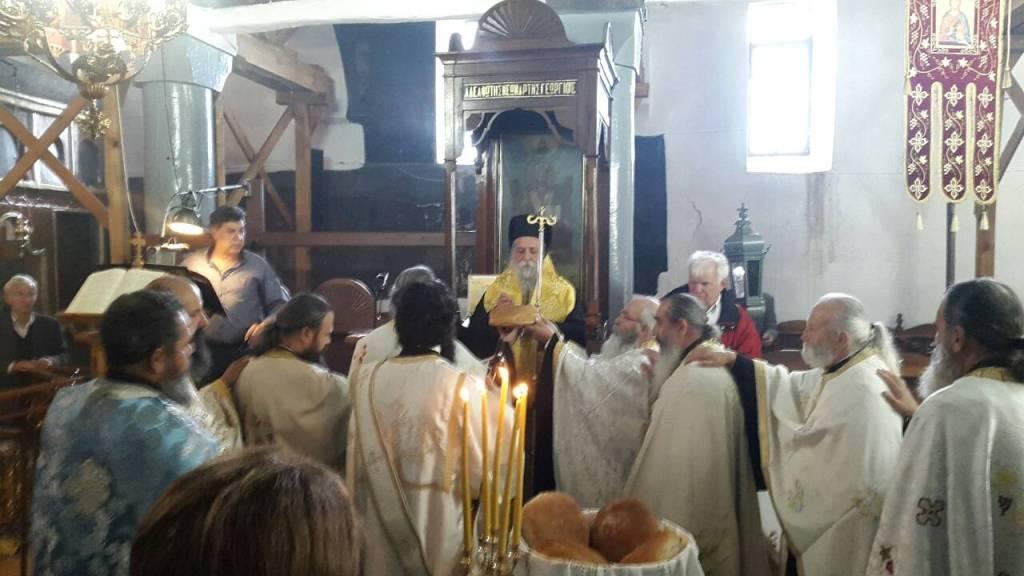 Εορτή της Συνάξεως των Αγίων Αποστόλων στον Άγιο Γεώργιο Γρεβενών