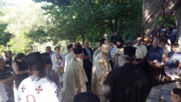 Εγκαίνια του Ιερού Ναού Αγίων Πάντων στον Πλατάνιστο Γρεβενών