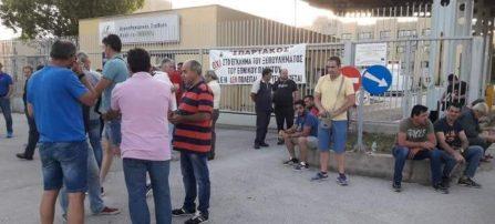 Φλώρινα: Μέλη της ΓΕΝΟΠ-ΔΕΗ απέκλεισαν την πύλη του ΑΗΣ Μελίτης