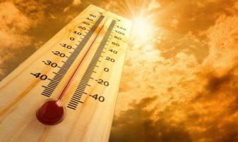Ασφυκτική ζέστη και σήμερα, στους 36 ο υδράργυρος