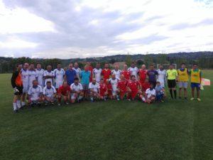 Ποδοσφαιρικός αγώνας παλαιμάχων των Αμυγδαλιών και του Αγίου Γεωργίου στη μνήμη του Βαγγέλη Κιούρκα(Φωτογραφίες)