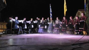 Συμμετοχή του χορευτικού τμήματος του Συλλόγου Γρεβενιωτών Κοζάνης στο φεστιβάλ στην Άρδασσα Εορδαίας