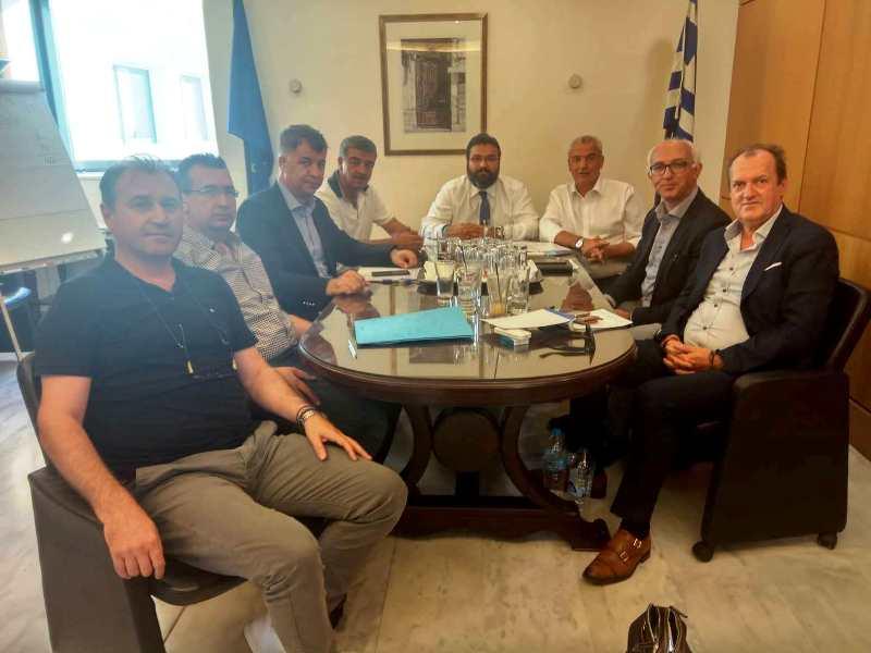 Συνάντηση για τον εκσυγχρονισμό των αθλητικών εγκαταστάσεων του Νομού Γρεβενών