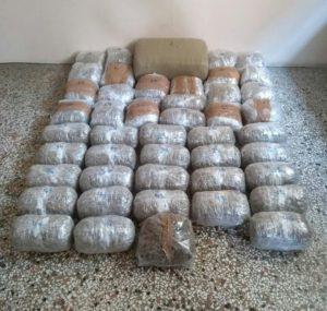 Κοζάνη: Συνελήφθησαν δύο αλλοδαποί για διακίνηση μεγάλης ποσότητας ακατέργαστης κάνναβης