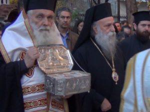 Γρεβενά: Yποδοχή του Ιερού Λειψάνου του Αγίου Λουκά στην Ιερά Μητρόπολη (Βίντεο – Φωτογραφίες)