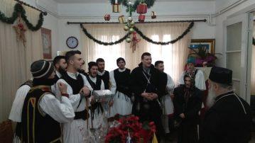 Πρωτοχρονιάτικα Κάλαντα και ευχές στον Σεβασμιώτατο Μητροπολίτη Γρεβενών