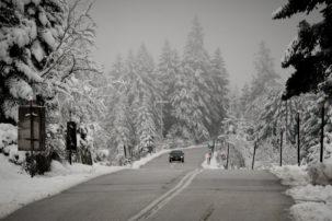 Στα «λευκά» ολόκληρη η Μακεδονία – Χιόνια και στη Θεσσαλονίκη