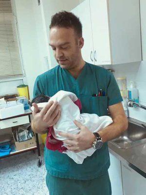 Κοριτσάκι το πρώτο μωράκι του 2019 στην Κοζάνη