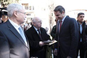 Στην πόλη της Σιάτιστας ο αρχηγός της αξιωματικής αντιπολίτευσης Κυριάκος  Μητσοτάκης