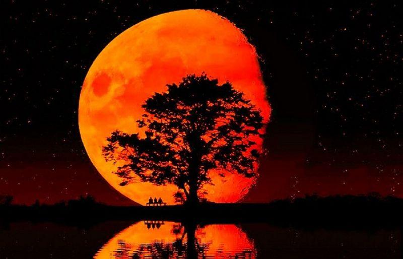 Μαζί καλοκαιρινή Πανσέληνος και μερική έκλειψη Σελήνης – Πότε θα είναι ορατό το φαινόμενο