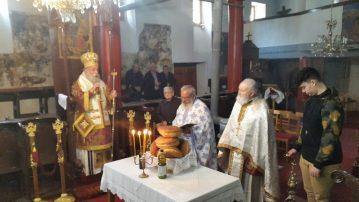 Ο Σεβασμιώτατος Μητροπολίτης Γρεβενών κ.κ. Δαβίδ ιερούργησε στον Ιερό Ναό του Προφήτου Ηλίου