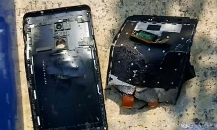 Βέροια: «Το κινητό τηλέφωνο εξερράγη στα χέρια μου»