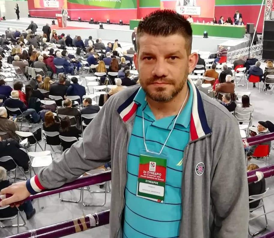 Δημήτρης Πρίντζας: Εξελέγη στην Κεντρική Επιτροπή του ΚΙΝΑΛ