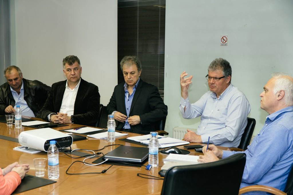 Συνάντηση με την Αναπτυξιακή Δυτικής Μακεδονίας για το συνδυασμό του Ευάγγελου Σημανδράκου