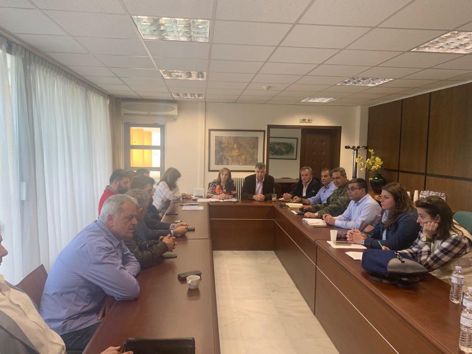 Συνεδρίασε το Συντονιστικό Όργανο Πολιτικής Προστασίας της Π.Ε. Γρεβενών Eνόψει της Νέας Αντιπυρικής Περιόδου