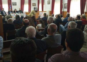 Ομιλία του υποψήφιου Δημάρχου Δήμου Δεσκάτης, Γαλάνη Δημητρίου και παρουσίαση του ψηφοδελτίου της Λαϊκής Συσπείρωσης για τις Δημοτικές και τις Περιφερειακές εκλογές