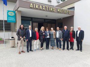 Κατάθεση ψηφοδελτίου του συνδυασμού ''Ελπίδα'' στο Πρωτοδικείο Κοζάνης