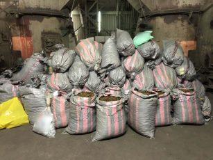 Πάνω από 949 κιλά ακατέργαστης κάνναβης και 8 κιλά ηρωίνης καταστράφηκαν σε υψικάμινο στο εργοστάσιο του ΑΗΣ Καρδιάς