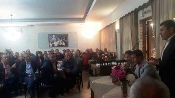 Επίσκεψη του Υποψηφίου Δημάρχου Γρεβενών και Επικεφαλή του συνδυασμού «Μαζί συνεχίζουμε» κ. Δημοσθένη Κουπτσίδη στην Τοπική Κοινότητα Κιβωτού