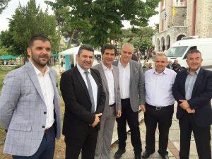 Στις εορταστικές εκδηλώσεις του Συλλόγου Γρεβενιωτών Θεσσαλονίκης ο Υποψήφιος Δήμαρχος Γρεβενών και Επικεφαλής του συνδυασμού «Μαζί συνεχίζουμε»  κ. Δημοσθένης Κουπτσίδης
