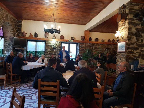 Τις Κοινότητες Λάβδας, Πολυνερίου, Αλατόπετρας και Προσβόρου επισκέφθηκε το βράδυ της Κυριακής ο υπ.Δήμαρχος Γιάννης Κ. Παπαδόπουλος