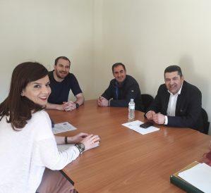 Συνάντηση του Υποψηφίου Δημάρχου Γρεβενών και Επικεφαλής του Συνδυασμού «Μαζί συνεχίζουμε» κ. Δημοσθένη Κουπτσίδη με τα Διοικητικά Συμβούλια του ΕΒΕ και του Εμπορικού Συλλόγου Γρεβενών