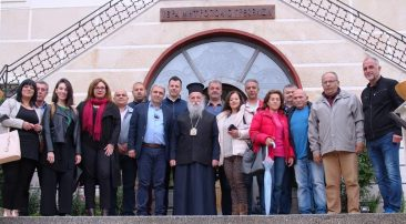 Επίσκεψη του Κώστα Παλάσκα στον Σεβασμιότατο Μητροπολίτη Γρεβενών κ.κ. Δαβίδ