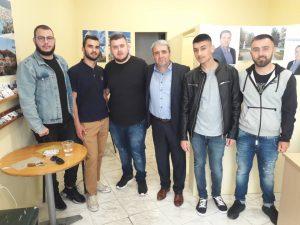 Ενημερωτική συνάντηση του υπ. Δημάρχου Κώστα Παλάσκα με εκπροσώπους του Συλλόγου Φοιτητών του τμήματος Διοίκησης Επιχειρήσεων Γρεβενών
