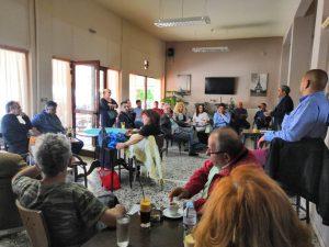 Δραστηριότητα και επισκέψεις του υποψηφίου Δημάρχου Γρεβενών Κώστα Παλάσκα