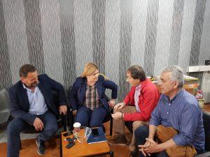 Συνάντηση της υφυπουργού Ελευθερίας Χατζηγεωργίου με τον υποψήφιο Δήμαρχο Γρεβενών Γιάννη Παπαδόπουλο