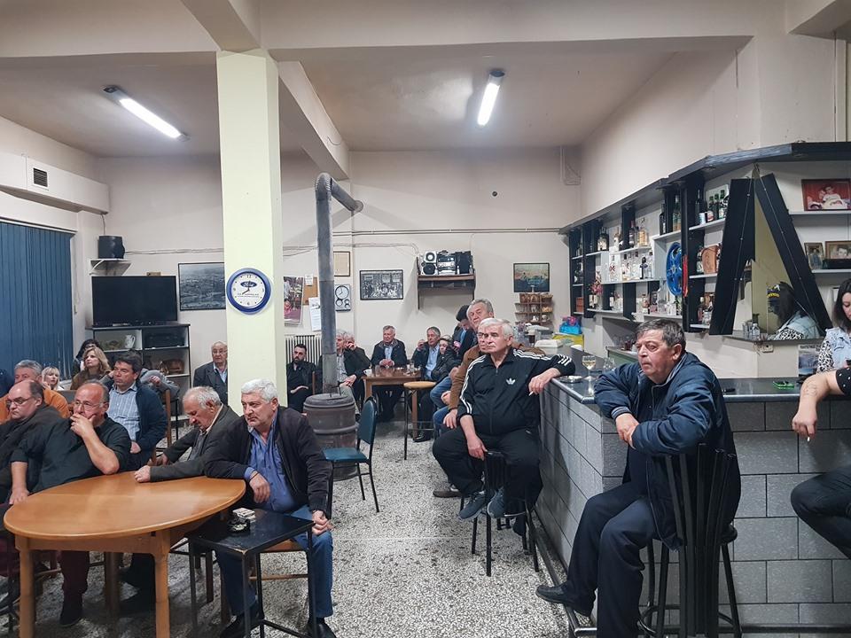 Κοινότητες του π.Δήμου Βεντζίου επισκέφθηκε ο υπ.Δήμαρχος Γρεβενών Γιάννης Κ. Παπαδόπουλος
