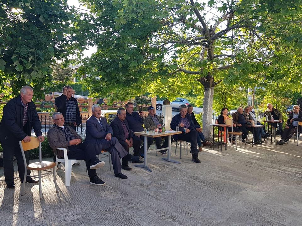 Τα χωριά του Ανατολικού Τομέα του π.Δήμου Βεντζίου επισκέφθηκε ο υπ.Δήμαρχος Γιάννης Κ.Παπαδόπουλος