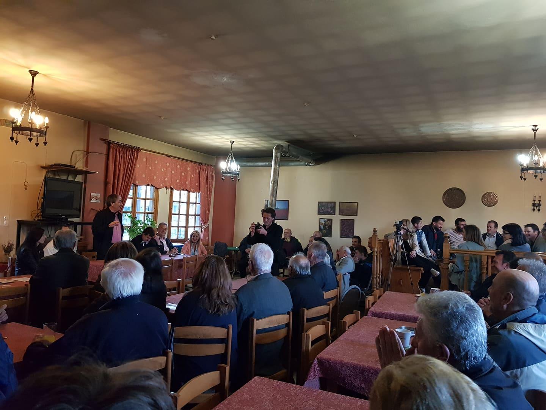 Στις κοινότητες Ελάτου και Καληράχης μίλησε την Παρασκευή ο υπ. Δήμαρχος Γιάννης Κ. Παπαδόπουλος