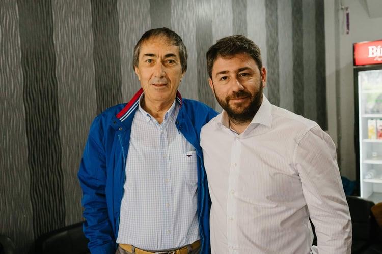 Τα Γρεβενά επισκέφθηκε ο υποψήφιος Ευρωβουλευτής του ΚΙΝΑΛ Νίκος Ανδρουλάκης
