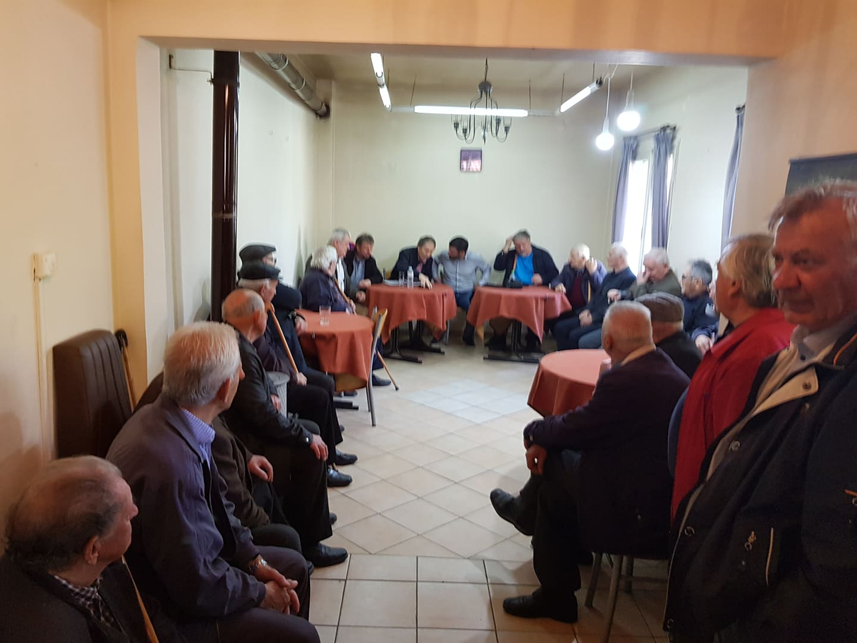 Στις κοινότητες Κοσματίου και Τρικώμου μίλησε το απόγευμα της Δευτέρας ο υπ. Δήμαρχος Γιάννης Παπαδόπουλος