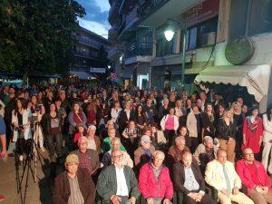 Σε μία μεγαλειώδη σε πλήθος και παλμό συγκέντρωση μίλησε στα Γρεβενά ο υπ. Δήμαρχος Γιάννης Παπαδόπουλος