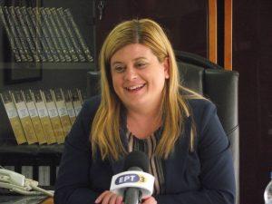 Γρεβενά: Συνέντευξη τύπου της  Υφυπουργού Εσωτερικών (Μακεδονίας – Θράκης), Ελευθερία Χατζηγεωργίου (Βίντεο – Φωτογραφίες)