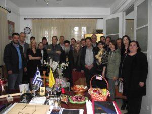 Επίσκεψη του υπ. Δημάρχου Γρεβενών Γιάννη Κ. Παπαδόπουλου στον Μητροπολίτη Γρεβενών κ.κ. Δαβίδ