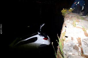 Αυτοκίνητο έπεσε στη λίμνη της Καστοριάς