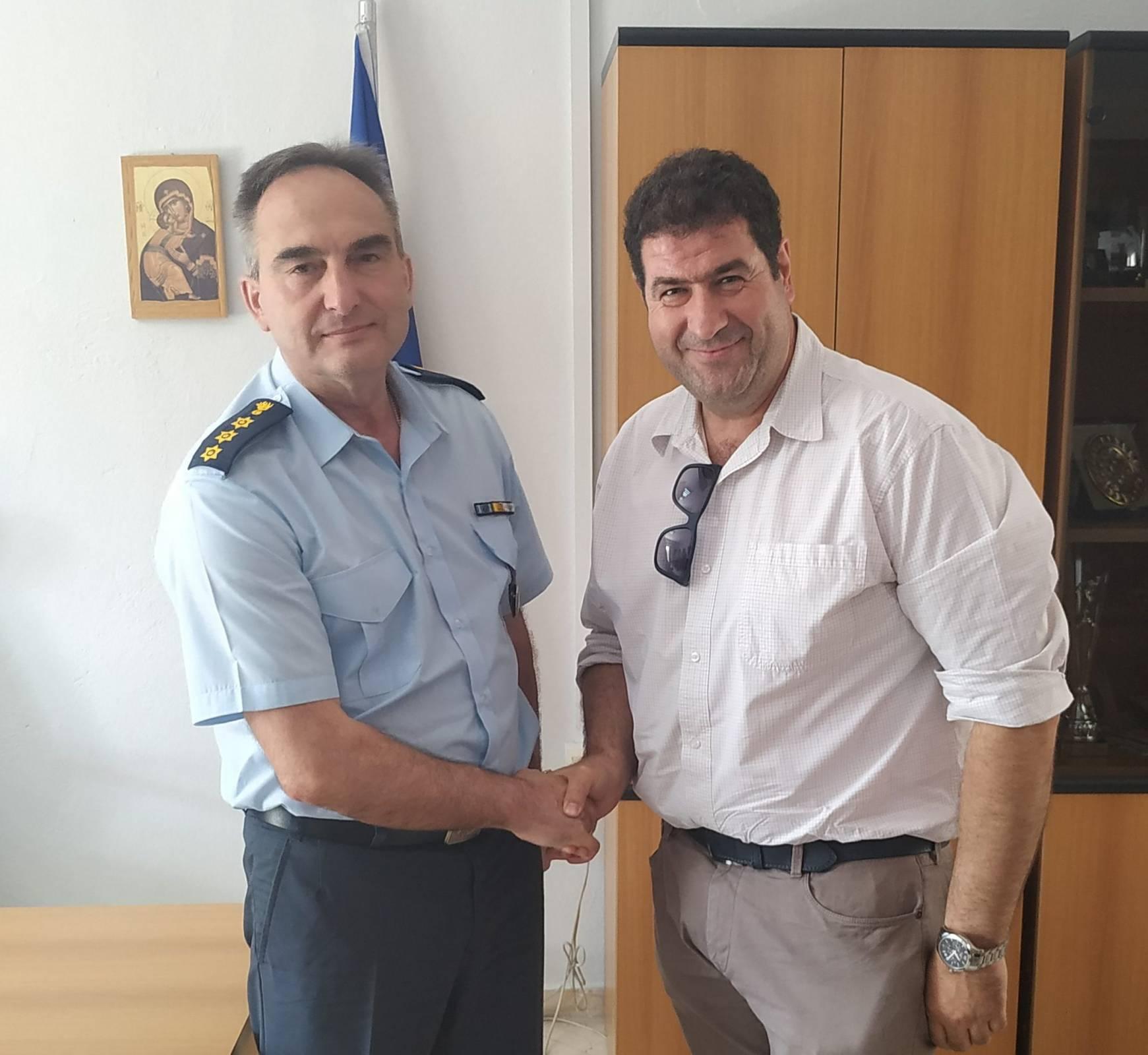 Επισκέψεις του υπ. βουλευτή Γρεβενών της Ν.Δ. Θανάση Σταυρόπουλου στο Αστυνομικό Τμήμα Γρεβενών