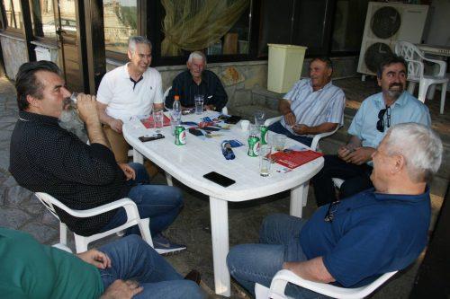 Επίσκεψη του υπ. Βουλευτή Γρεβενών του ΣΥΡΙΖΑ Γιώργου Καλαμάρα στην Γόργιανη