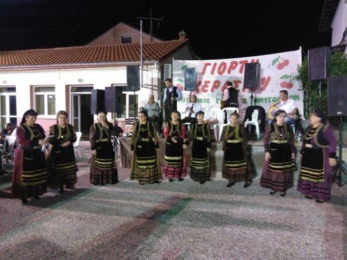 Με τεράστια επιτυχία πραγματοποιήθηκε η παραδοσιακή δημοτική βραδιά της24ης Γιορτής Κερασιού στις Αμυγδαλιές Γρεβενών