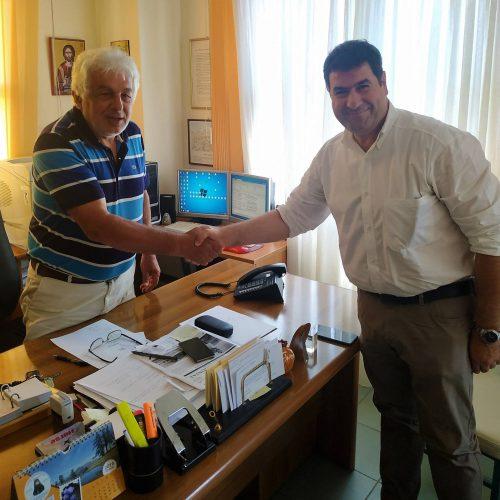 Επισκέψεις του υπ. βουλευτή Γρεβενών Θανάση Σταυρόπουλου στο Διοικητήριο της Π.Ε. Γρεβενών