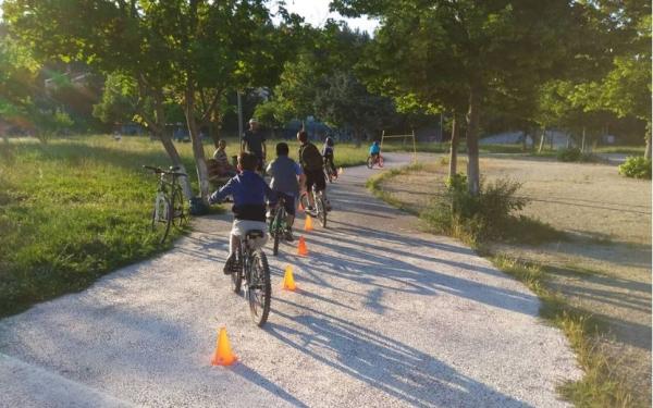 Ακαδημία ποδηλασίας απο την Ένωση Ποδηλατιστών Γρεβενών (Ε.ΠΟ.Γ.)