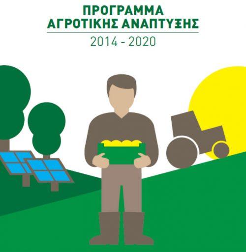 4η Τροποποίηση προς ένταξη στο Υπομέτρο 6.3 «Ανάπτυξη μικρών γεωργικών εκμεταλλεύσεων»